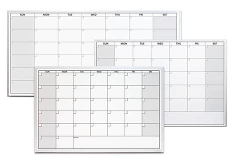 Magnetic Erase Calendar One Month Erase Calendars Magnetic