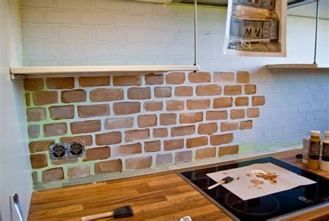 brick kitchen backsplash how to install brick tile backsplash cabinet hardware