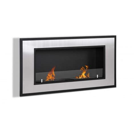Recessed Fireplace by Bellezza Recessed Ethanol Fireplace Newbathroomstyle