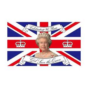Union Jack Curtains Uk Union Jack Queens 90th Birthday God Save The Queen Flag