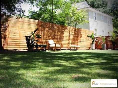 Modern Backyard Fence by Modern Fences Atlanta Fence Workshop