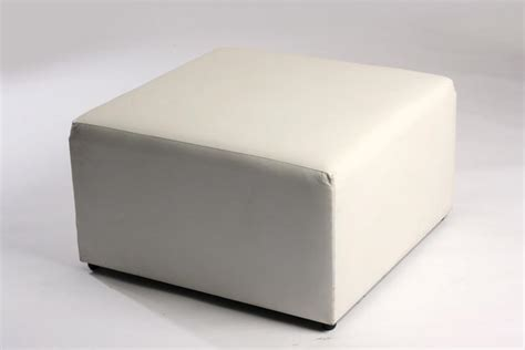 white square ottoman ottomans furniture sales inspire furniture rentals pty