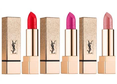 Lipstik Ysl Original ysl pur couture clash edition lipstick swatches le nu le fuchsia le cali