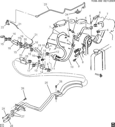 service manuals schematics 2009 chevrolet trailblazer navigation system trailblazer power steering line diagram autos post