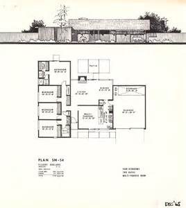 Floor Plans For Narrow Lots eichler brochures yorktown