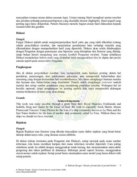 format jurnal format jurnal ilmiah