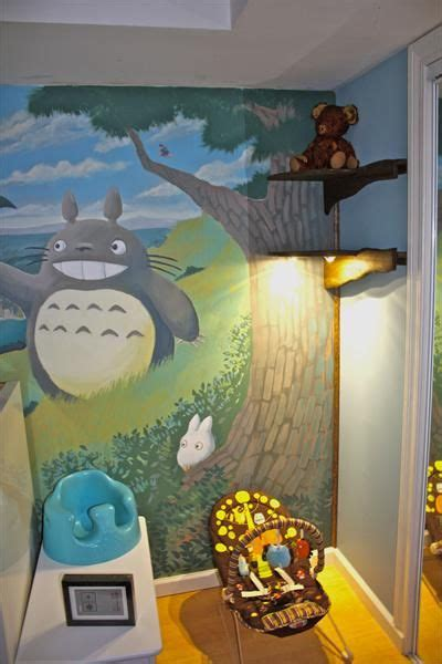 studio ghibli bedroom 28 best images about totoro mural on pinterest the