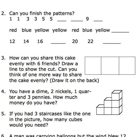 Printable Second Grade Math Word Problem Worksheets