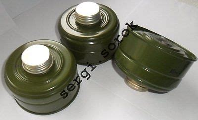 Canister Ekslusif 3pcs nbc ussr russian gas mask filter canister gp 5k 40mm with