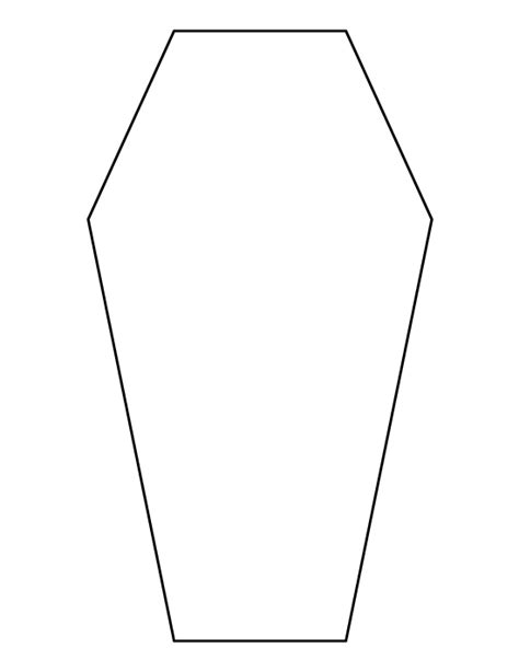 coffin cake template pin by muse printables on printable patterns at