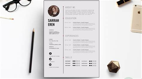 europass cv template docx clean cv template design photoshop tutorial