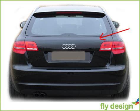 Dachspoiler Audi A3 8p by Audi A3 8p 8pa Spoiler Heckspoiler Spoilerlippe Ebay