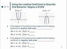Even Function Coefficient Positive And Degree Leading 9