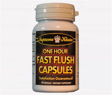 Detox Pills To Pass Urine Test by Fast Flush Capsules Pass A Cocaine Test