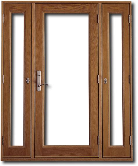 Door With Sidelights by Home Entrance Door Fiberglass Front Doors With Sidelights