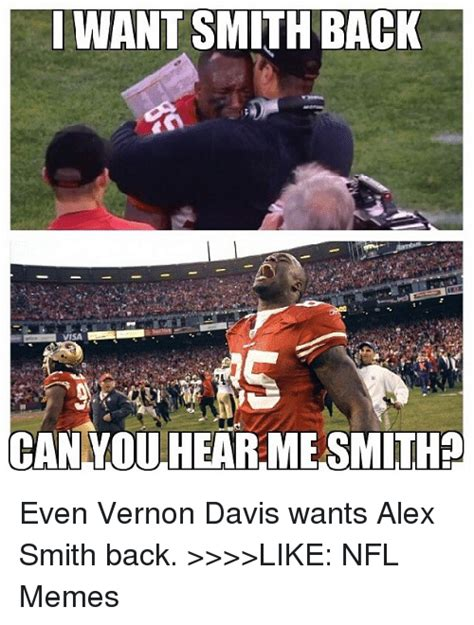 Alex Smith Meme - 25 best memes about vernon davis vernon davis memes