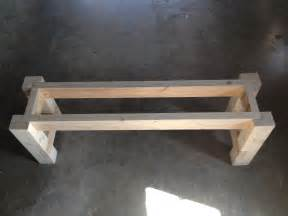 free plans for a rustic farmhouse table bench a
