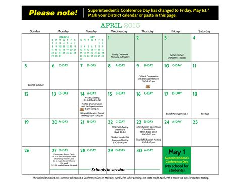 Columbus City Schools Calendar Rochester City School District Calendar
