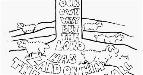 Isaiah 6 Coloring Page by Coloring Pages For By Mr Adron All We Like Sheep