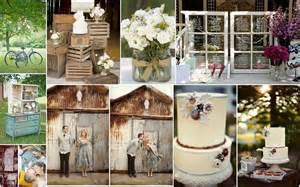 vintage style country vs elegant wedding