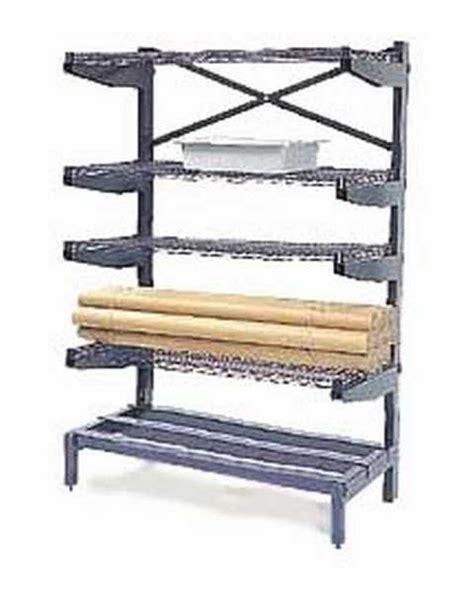 nexel nexelon 24x36 cantilever shelving 5 shelves 2436cs5
