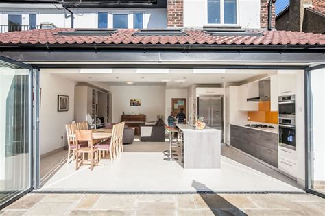 Single Floor Extension by Single Storey Kitchen Extension In Twickenham By L E