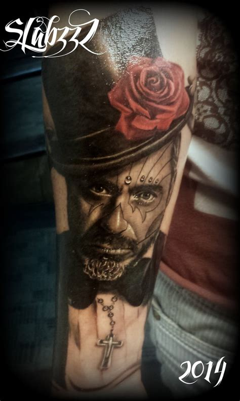 day of the dead man tattoo by calebslabzzzgraham on deviantart