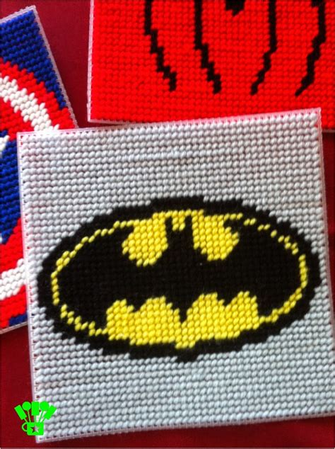 free patterns in plastic canvas super hero coaster plastic canvas pattern everyday parties