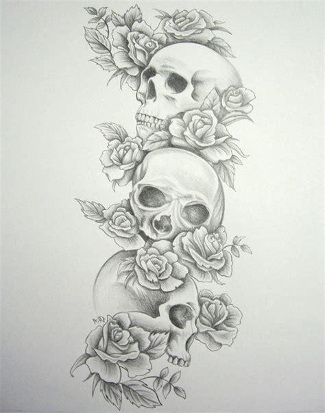 tattoo sleeve designs roses skulls tag skull and sleeve designs best design