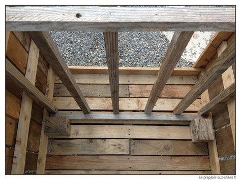 Fabrication D Un Composteur by Construire Un Composteur Gratuit En Bois De Palette Se
