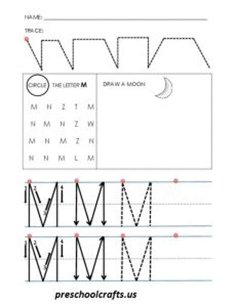 letter m worksheets letter m worksheets for preschool preschool and kindergarten 1373