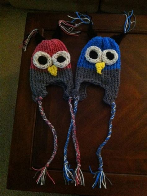loom knit owl hat 17 best images about knitting loom hats on