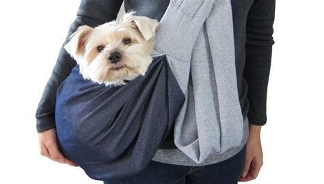 puppy carrier sling carrier backpack or carrier sling it s a matter of convenience top tips