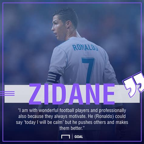 ronaldo juventus quote real madrid news zidane explains wonderful ronaldo is a born leader the goal