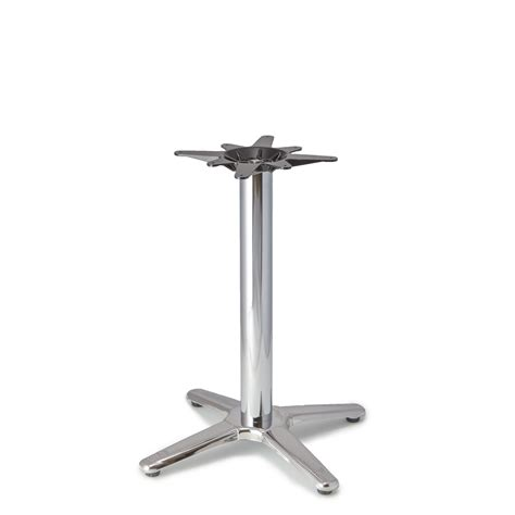 Patio Table Base Patio 4 Aluminum Table Base Tablebases Quality Table Bases Metal Table Legs