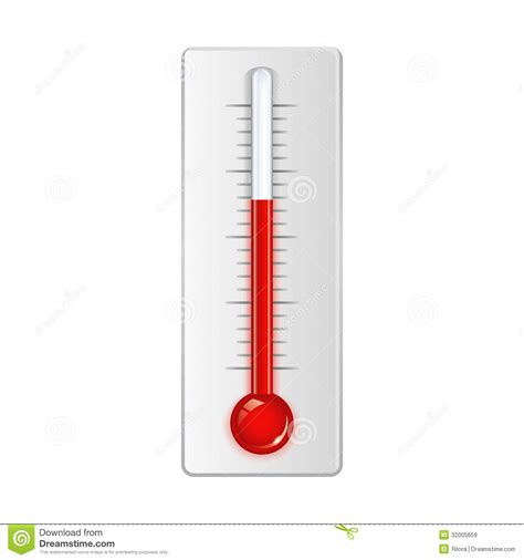 Termometer Fahrenheit vector thermometer stock vector illustration of mercury