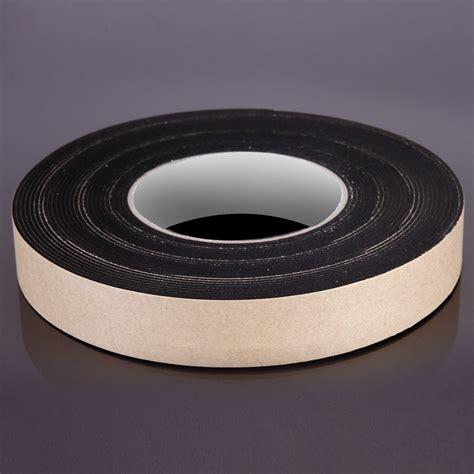 Seal 10m 25mm sponge rubber single sided adhesive foam door seal 10m roll ebay