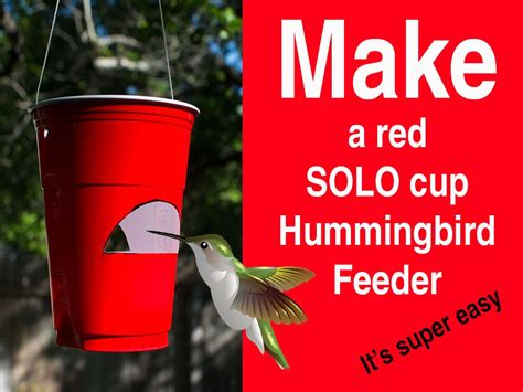 diy hummingbird feeder simple and seasonal