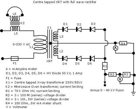 transformer current limiting resistor hv