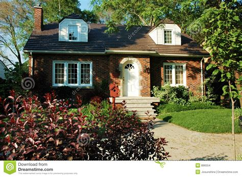 red brick house red brick house stock images image 896554