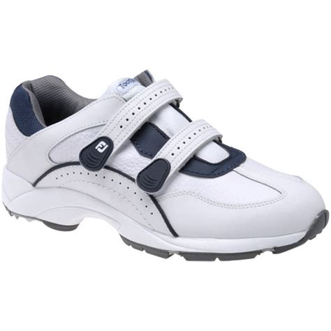footjoy mens athletic velcro spikeless golf shoes tgw