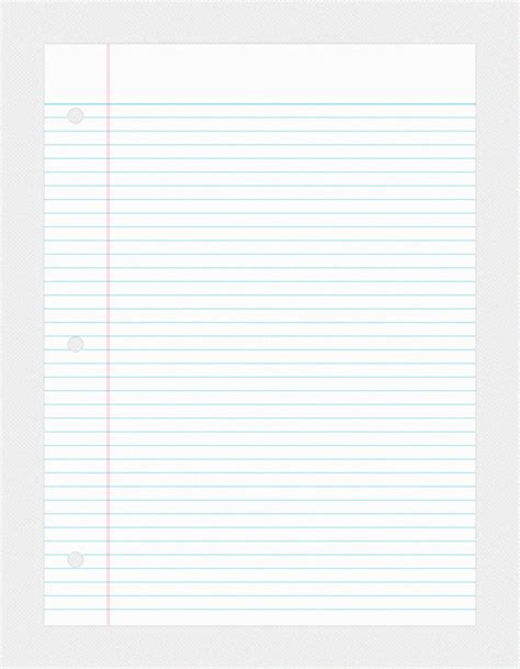 college ruled paper template college ruled paper psd4free