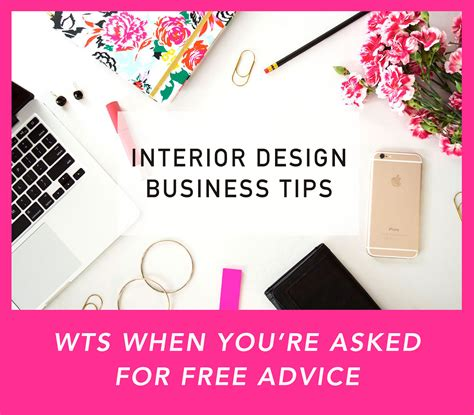 how to get free interior design advice interior design business tips wts when you re asked for