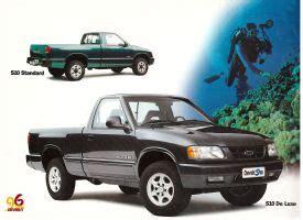 old car repair manuals 1995 chevrolet s10 auto manual 1996 97 chevrolet s10 brochure