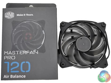 cooler master fan cooler master masterfan pro 120mm and 140mm review kitguru