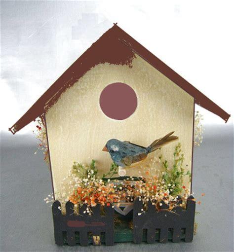 Decorative Bird House by Building Bird Houses