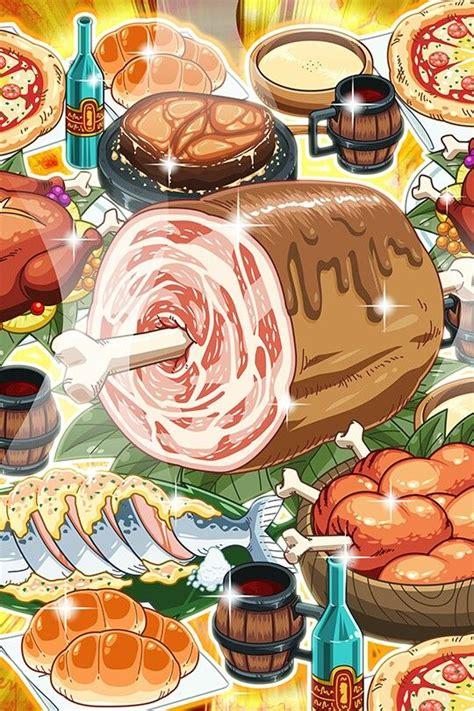 animated food    real food