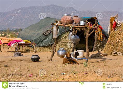 indien haus einsames haus in der w 252 ste indien lizenzfreie