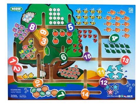 Chunky Puzzle Alfabet Besar mainankayu mainan ber sni mainan bermutu pilihan