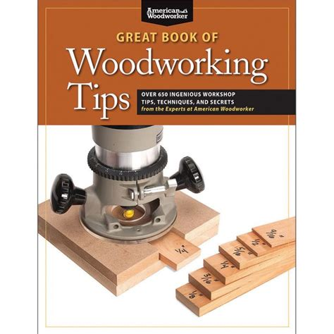 great book  woodworking tips